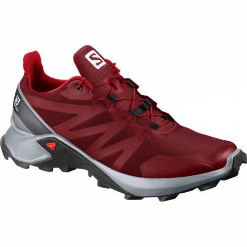 サロモン SALOMON メンズ スニーカー 運動靴 【 Mens Supercross Trail Running Shoes 】 Red/black