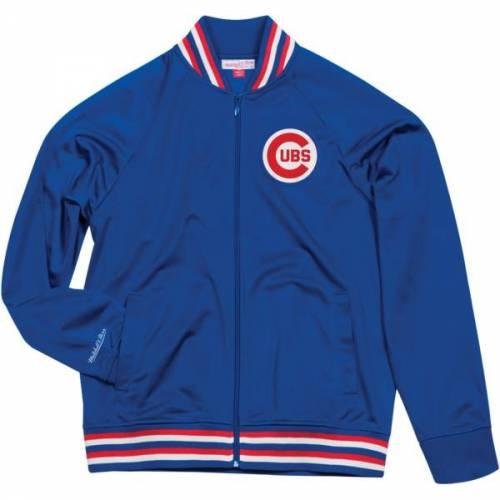 ミッチェル&ネス MITCHELL & NESS メンズ シカゴ カブス トラック メンズファッション コート ジャケット 【 Mitchell And Ness Mens Chicago Cubs Track Jacket 】 Color