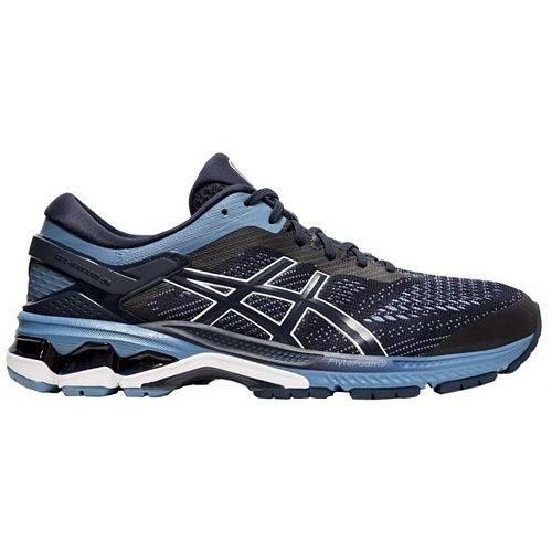 アシックス ASICS メンズ スニーカー 運動靴 【 Mens Gel-kayano 26 Running Shoes 】 Navy/grey
