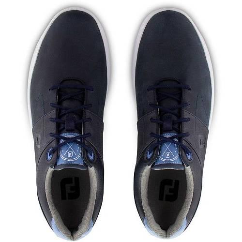 FOOTJOY ゴルフ スニーカー 運動靴 紺 ネイビー MEN'S スニーカー 【 GOLF NAVY FOOTJOY CONTOUR SHOES 】 メンズ スニーカー