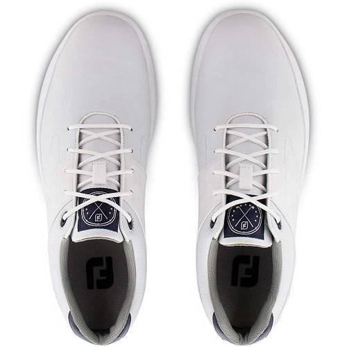 FOOTJOY ゴルフ スニーカー 運動靴 白 ホワイト MEN'S スニーカー 【 GOLF WHITE FOOTJOY CONTOUR SHOES 】 メンズ スニーカー
