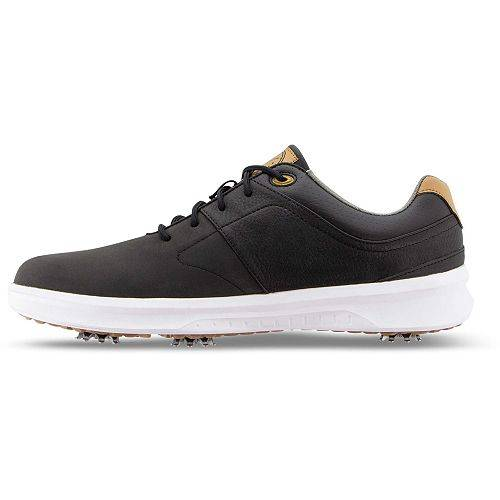 FOOTJOY ゴルフ スニーカー 運動靴 黒 ブラック MEN'S スニーカー 【 GOLF BLACK FOOTJOY CONTOUR SHOES 】 メンズ スニーカー