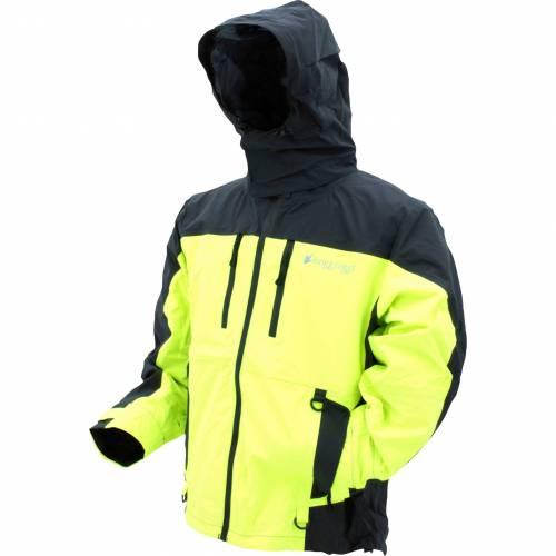 FROGG TOGGS メンズ メンズファッション コート ジャケット 【 Mens Pilot Ii Guide Jacket 】 Charcoal/hi Vis