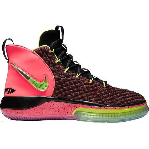 ナイキ NIKE バスケットボール スニーカー 運動靴 メンズ 【 Alphadunk Basketball Shoes 】 Pink/black