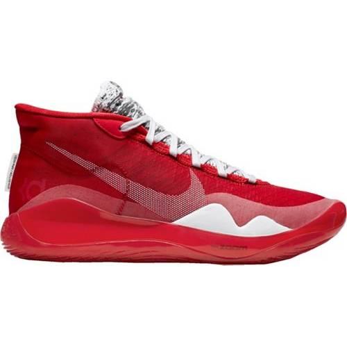 ナイキ NIKE ズーム バスケットボール スニーカー 運動靴 メンズ 【 Zoom Kd 12 Basketball Shoes 】 University Red/white