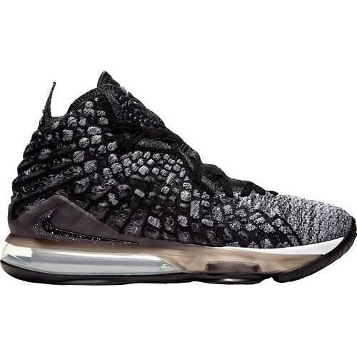 ナイキ NIKE レブロン バスケットボール スニーカー 運動靴 メンズ 【 Lebron 17 Basketball Shoes 】 Black/white/black