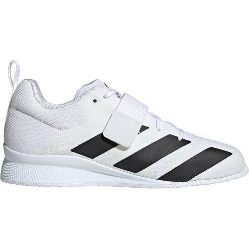 アディダス ADIDAS メンズ トレーニング スニーカー 運動靴 【 Addias Mens Adipower Weightlifting 2 Training Shoes 】 White/black/white
