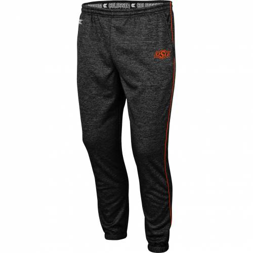 COLOSSEUM メンズ スケートボード カウボーイズ パフォーマンス 黒 ブラック メンズファッション ズボン パンツ 【 Mens Oklahoma State Cowboys Burns Performance Black Pants 】 Color