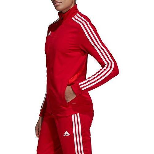 【★スーパーセール中★ 6/11深夜2時迄】アディダス ADIDAS レディース トレーニング 【 Womens Tiro 19 Training Jacket 】 Power Red