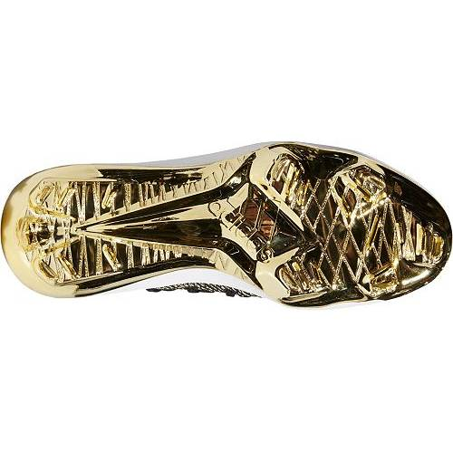 アディダス ADIDAS メンズ アディゼロ メタル ベースボール スニーカー 【 Mens Adizero Afterburner 6 Gold Metal Baseball Cleats 】 Black/gold