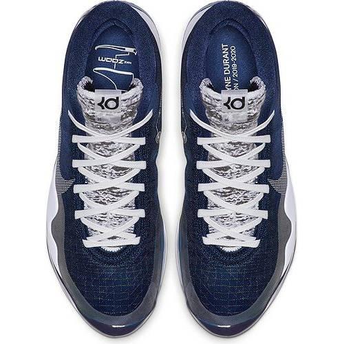 ナイキ NIKE ズーム バスケットボール スニーカー 運動靴 メンズ 【 Zoom Kd 12 Basketball Shoes 】 Midnight Navy/white