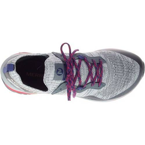 MERRELL メンズ スニーカー 運動靴 【 Mens Mag-9 Trail Running Shoes 】 Grey/pink