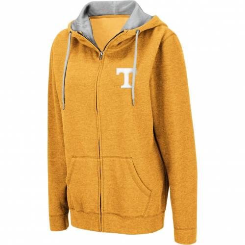 COLOSSEUM レディース テネシー 橙 オレンジ レディースファッション トップス パーカー 【 Womens Tennessee Volunteers Tennessee Orange Full-zip Hoodie 】 Color