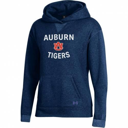 アンダーアーマー UNDER ARMOUR レディース タイガース 青 ブルー レディースファッション トップス パーカー 【 Womens Auburn Tigers Blue All Day Hoodie 】 Color
