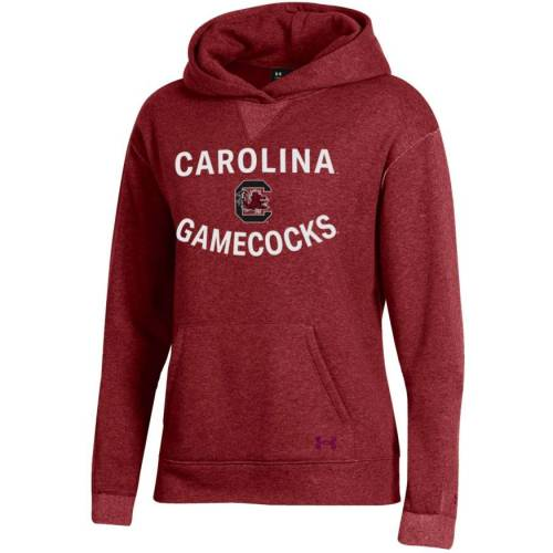 アンダーアーマー UNDER ARMOUR レディース カロライナ レディースファッション トップス パーカー 【 Womens South Carolina Gamecocks Garnet All Day Hoodie 】 Color