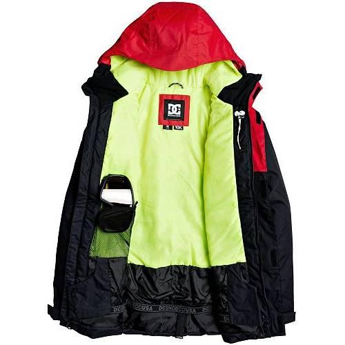 DC SHOES メンズ メンズファッション コート ジャケット 【 Mens Defy Snow Jacket 】 Racing Red