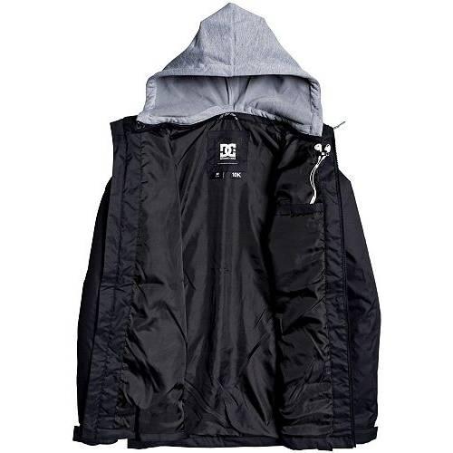 DC SHOES メンズ ユニオン メンズファッション コート ジャケット 【 Mens Union Snow Jacket 】 Black