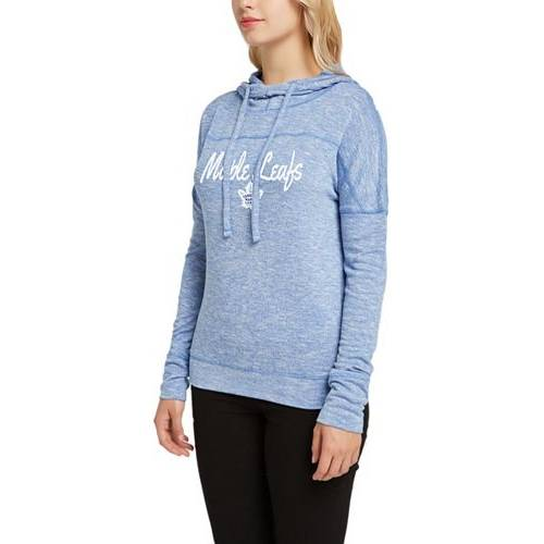 CONCEPTS SPORT レディース トロント レディースファッション トップス パーカー 【 Womens Toronto Maple Leafs Marble Royal Heathered Pullover Hoodie 】 Color