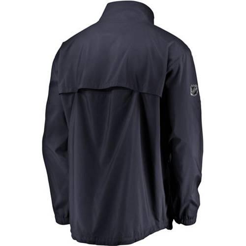 FANATICS メンズ オーセンティック プロ 紺 ネイビー St. メンズファッション コート ジャケット 【 Nhl Mens St. Louis Blues Authentic Pro Rinkside Navy Full-zip Jacket 】 Color