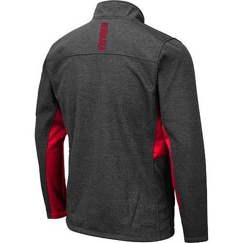 COLOSSEUM メンズ Gray灰色 グレイ メンズファッション コート ジャケット 【 Mens Nebraska Cornhuskers Grey Bumblebee Man Full-zip Jacket 】 Color