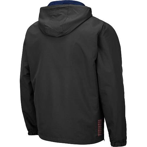 COLOSSEUM メンズ バージニア キャバリアーズ Gray灰色 グレイ メンズファッション コート ジャケット 【 Mens Virginia Cavaliers Grey Dolph Half-zip Jacket 】 Color
