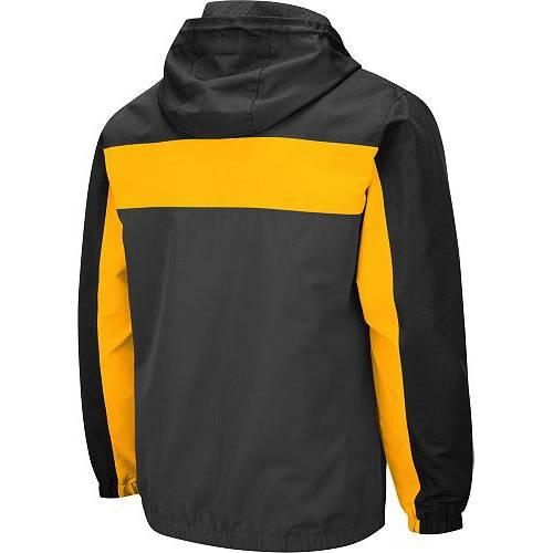 COLOSSEUM メンズ Gray灰色 グレイ メンズファッション コート ジャケット 【 Mens Iowa Hawkeyes Grey Brockman Full-zip Jacket 】 Color
