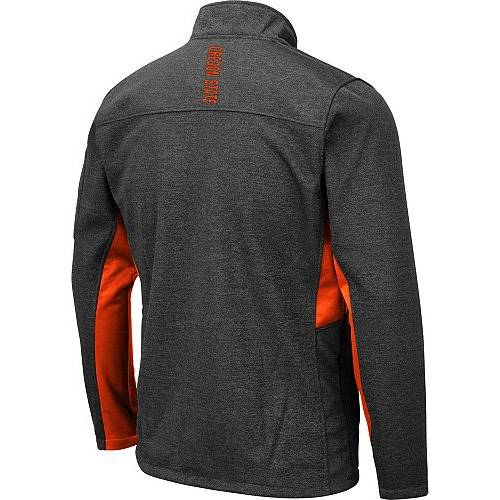 COLOSSEUM メンズ オレゴン スケートボード Gray灰色 グレイ メンズファッション コート ジャケット 【 Mens Oregon State Beavers Grey Bumblebee Man Full-zip Jacket 】 Color