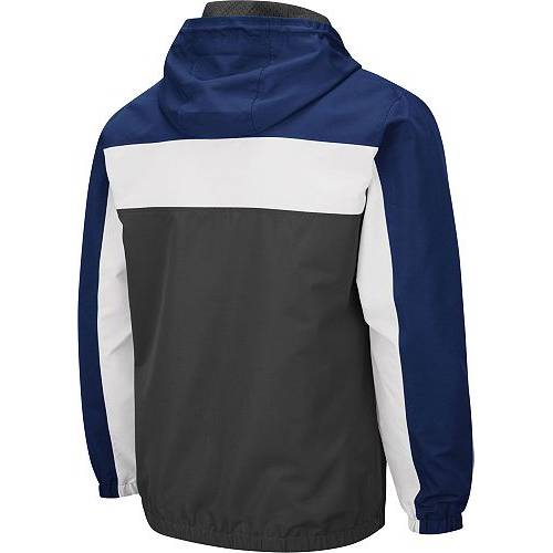 COLOSSEUM メンズ スケートボード ライオンズ Gray灰色 グレイ メンズファッション コート ジャケット 【 Mens Penn State Nittany Lions Grey Brockman Full-zip Jacket 】 Color