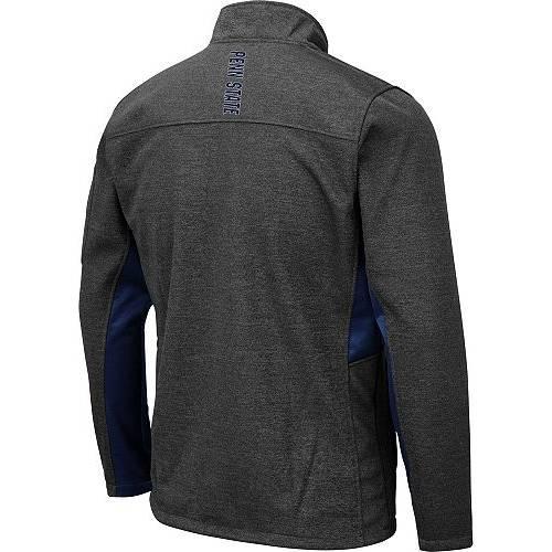 COLOSSEUM メンズ スケートボード ライオンズ Gray灰色 グレイ メンズファッション コート ジャケット 【 Mens Penn State Nittany Lions Grey Bumblebee Man Full-zip Jacket 】 Color