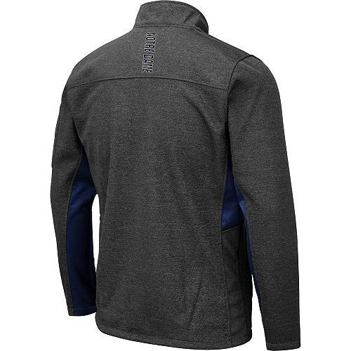 COLOSSEUM メンズ Gray灰色 グレイ メンズファッション コート ジャケット 【 Mens Notre Dame Fighting Irish Grey Bumblebee Man Full-zip Jacket 】 Color