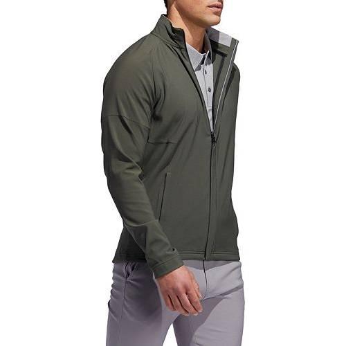 アディダス ADIDAS メンズ ゴルフ メンズファッション コート ジャケット 【 Mens Softshell Golf Jacket 】 Legend Earth