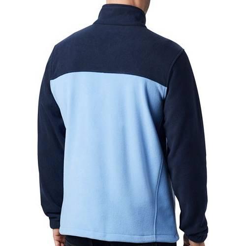 コロンビア COLUMBIA メンズ ノース カロライナ 紺 ネイビー フリース メンズファッション コート ジャケット 【 Mens North Carolina Tar Heels Navy Flanker Full-zip Fleece Jacket 】 Color