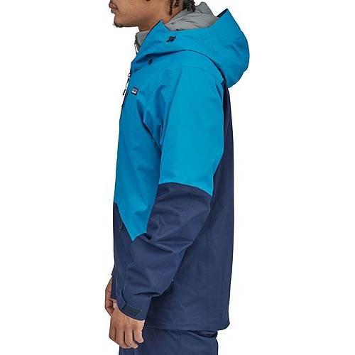 パタゴニア PATAGONIA シェル 青 ブルー MEN'S 【 SHELL BLUE PATAGONIA SNOWSHOT JACKET BALKAN 】 メンズファッション コート ジャケット