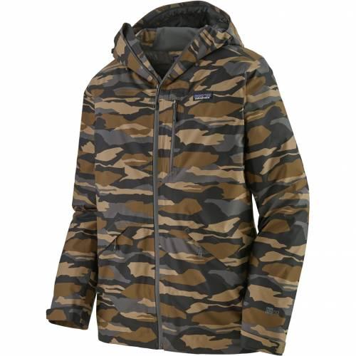 PATAGONIA メンズ シェル メンズファッション コート ジャケット 【 Mens Snowshot Shell Jacket 】 Bear Wtnss Cmo/mjve Khaki