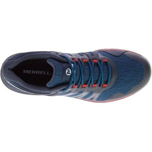 MERRELL メンズ スニーカー 運動靴 【 Mens Nova Trail Running Shoes 】 Blue