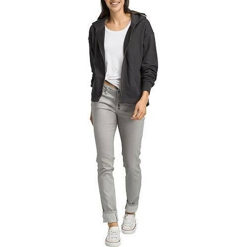 PRANA レディース 【 Womens Cozy Up Zip Up Jacket 】 Charcoal Heather