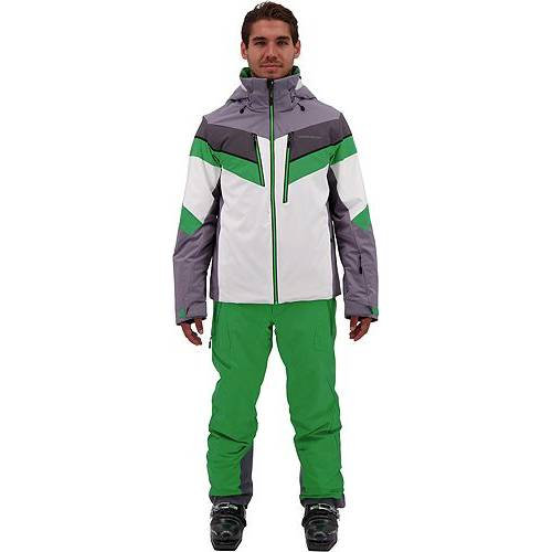 OBERMEYER メンズ メンズファッション コート ジャケット 【 Mens Chroma Jacket 】 Northern Lights
