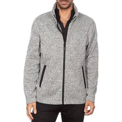 AVALANCHE メンズ システム メンズファッション コート ジャケット 【 Mens Hooded 3-in-1 System Jacket 】 Black H Grey
