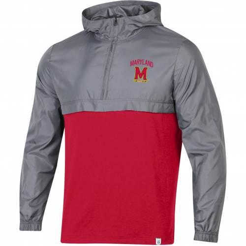 アンダーアーマー UNDER ARMOUR メンズ メリーランド Gray灰色 グレイ ウーブン メンズファッション コート ジャケット 【 Mens Maryland Terrapins Grey Sportstyle Woven Quarter-zip Jacket 】 Color