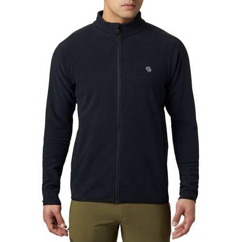 MOUNTAIN HARDWEAR メンズ メンズファッション コート ジャケット 【 Mens Macrochill Full Zip Jacket 】 Black