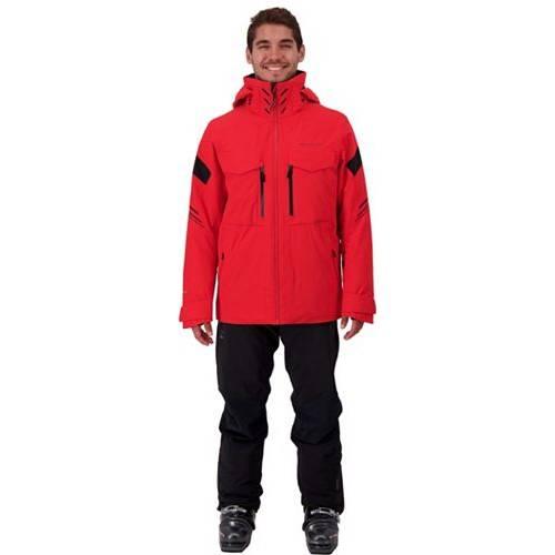 OBERMEYER メンズ アルティメイト ダウン ハイブリッド メンズファッション コート ジャケット 【 Mens Ultimate Down Hybrid Insulated Jacket 】 Brakelight