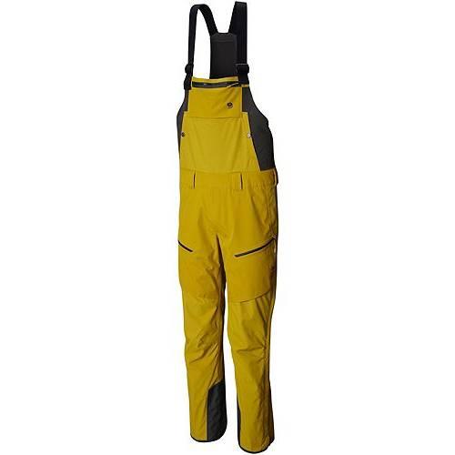 MOUNTAIN HARDWEAR メンズ メンズファッション ズボン パンツ 【 Mens Firefall Bib Pants 】 Dark Citron