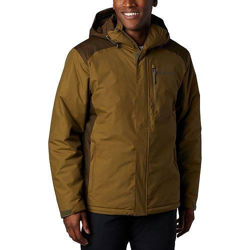コロンビア COLUMBIA メンズ メンズファッション コート ジャケット 【 Mens Tipton Peak Insulated Jacket (regular And Big And Tall) 】 Olive Green/brown