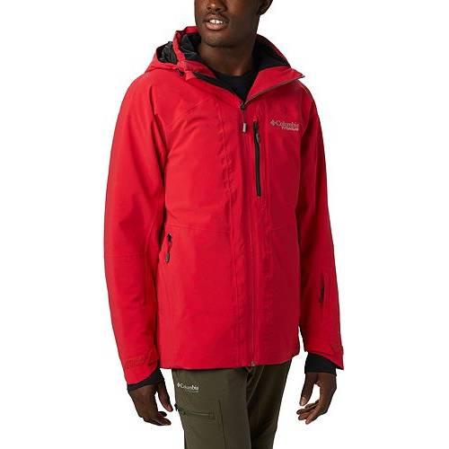 コロンビア COLUMBIA ライバル 赤 レッド MEN'S 【 RED COLUMBIA TITANIUM SNOW RIVAL JACKET MOUNTAIN 】 メンズファッション コート ジャケット