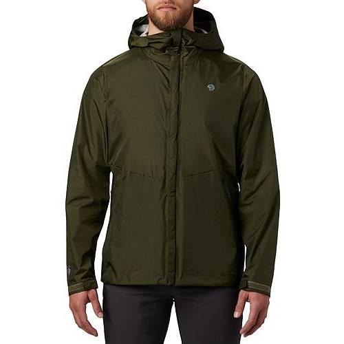 MOUNTAIN HARDWEAR メンズ メンズファッション コート ジャケット 【 Mens Acadia Jacket 】 Dark Army
