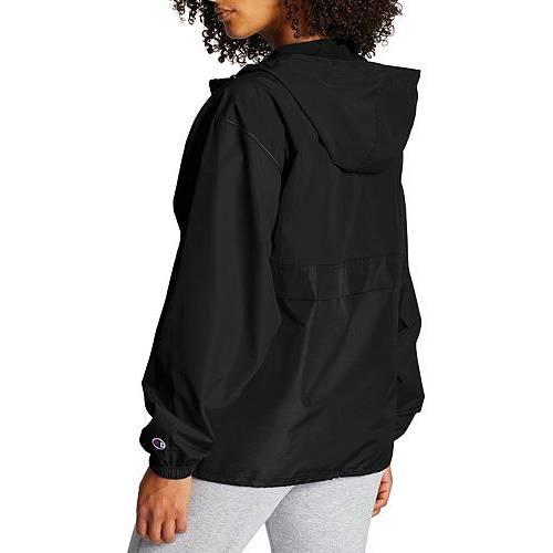 【★スーパーセール中★ 6/11深夜2時迄】チャンピオン CHAMPION レディース 【 Womens Packable Jacket 】 Black