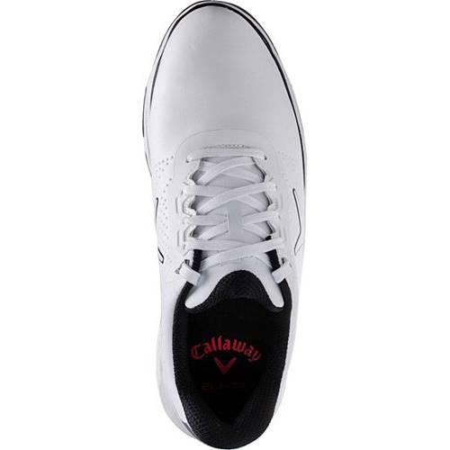 キャロウェイ CALLAWAY ゴルフ スニーカー 運動靴 白 ホワイト MEN'S スニーカー 【 GOLF WHITE CALLAWAY CORONADO SHOES 】 メンズ スニーカー