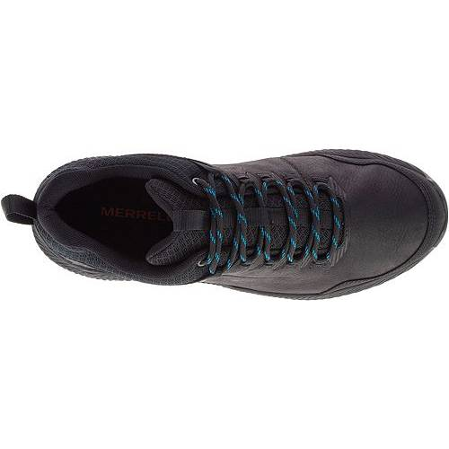 MERRELL スニーカー 運動靴 黒 ブラック MEN'S スニーカー 【 BLACK MERRELL FORESTBOUND WATERPROOF HIKING SHOES 】 メンズ スニーカー