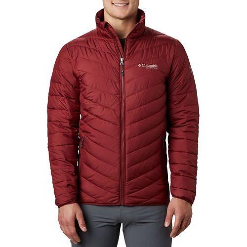 コロンビア COLUMBIA メンズ メンズファッション コート ジャケット 【 Mens Titanium Valley Ridge Jacket 】 Red Jasper