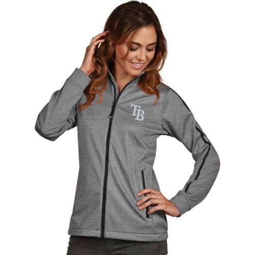 【★スーパーセール中★ 6/11深夜2時迄】ANTIGUA レディース レイズ Gray灰色 グレイ ゴルフ 【 Womens Tampa Bay Rays Grey Golf Jacket 】 Color